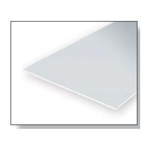 Plaques plastique blanches - EVERGREEN : Dimension 150 x 290 mm